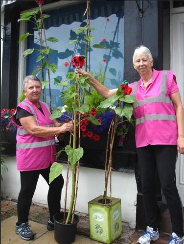 Image of community gardeners